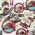 Creative Converting Vintage Red Truck Party Supplies Kit for 24 GuestsHeavy Duty Paper in Black/Blue/Red   Wayfair DTC5607E2B