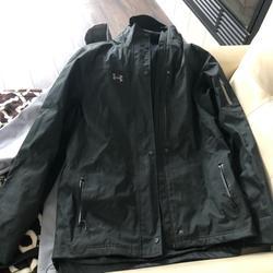 Under Armour Jackets & Coats   Black Under Armor Rain Coat With Pants.   Color: Black   Size: M
