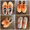 Polo By Ralph Lauren Shoes | 2012 Polo Ralph Lauren Vaughn Sneaker | Color: Green/Orange | Size: 9