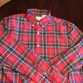 American Eagle Outfitters Shirts | American Eagle Ls Shirt Sz M | Color: Blue/Red | Size: M