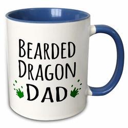 East Urban Home Bearded Dragon Mom Coffee Mug Ceramic in Blue, Size 3.75 H x 4.0 W in | Wayfair 1D268FA92D18468581BBA9D2E4ED41DE