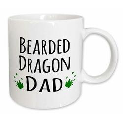 East Urban Home Bearded Dragon Mom Coffee Mug Ceramic in White, Size 4.65 H x 4.9 W in   Wayfair 9FCB22DF928C43C1AEC31BC951D911EE