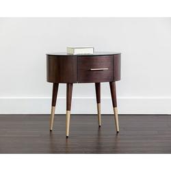 Brayden Studio® Herakleios End Table Glass/Metal in Black/Yellow, Size 24.5 H x 25.0 W x 19.25 D in | Wayfair 1125D31F238B43D3BBA8ECC43AB9E1E6