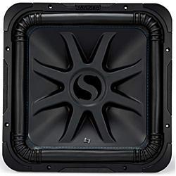 "Kicker 44L7S152 Car Audio Solo-Baric 15"" Subwoofer Square L7 Dual 2 Ohm Sub (Renewed)"