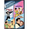 4 Film Fav:Elvis Presley Blues: G.I. Blues/ King Creole/ Jailhouse Rock/ Viva Las Vegas (DVD) by Various