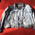 American Eagle Outfitters Jackets & Coats | Ae Ripped Jean Jacket | Color: Blue | Size: M