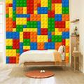 Wallpaper Lego Building Blocks Children's Room Toy Store 3D Mural Hd Photos Waterproof Wallpaper Bedroom Living Room Tv Wall Home Decoration430×300cm