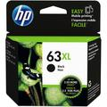 HP 63XL High-Yield Black Ink Cartridge F6U64AN#140