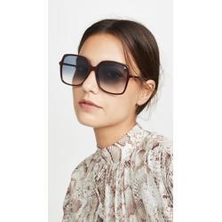 Ultralight Acetate Square Sunglasses - Blue - Gucci Sunglasses