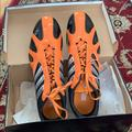 Adidas Shoes | Adidas Mens Track And Field Shoes | Color: Black/Orange | Size: 11.5