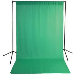 Savage Economy Background Support Stand with 5 x 9' Chroma Green Backdrop 59-9946