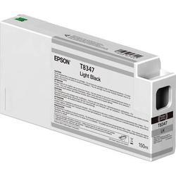 Epson T834700 UltraChrome HD Light Black Ink Cartridge (150ml) T834700
