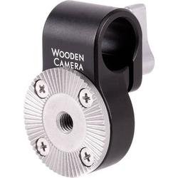Wooden Camera 15mm Rod Clamp with ARRI-Style Rosette 220000