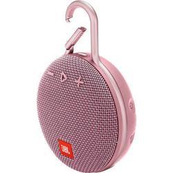 JBL Clip 3 Portable Bluetooth Speaker (Dusty Pink) JBLCLIP3PINKAM