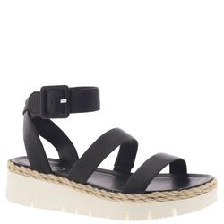 Franco Sarto Jackson - Womens 11 Black Sandal Medium
