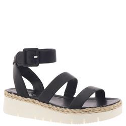 Franco Sarto Jackson - Womens 9.5 Black Sandal Medium