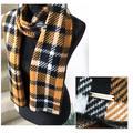 Michael Kors Accessories   Michael Kors Scarf, Plaid 12x75   Color: Black/Gold   Size: 12x75