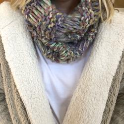 American Eagle Outfitters Accessories | America Eagle Multicolored Scarf | Color: Red | Size: Os