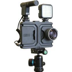 Melamount Video Stabilizer Pro Multimedia Rig Case for iPhone 7 Plus/8 Plus MM-IPHONE7PLUS