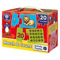 ORCHARD TOYS Match and Count - Learn 1-20 - Educational Jigsaw - 20 Jigsaws in One Box - Perfect for Home Learning, Multi