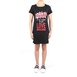 Love Moschino W5929 10 M3876 Robe Femme Noir 40