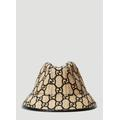 GG Fedora Hat With Snakeskin - Natural - Gucci Hats