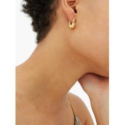 Etruscan Small 18kt Gold-vermeil Hoop Earrings - Metallic - Sophie Buhai Earrings