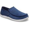 Crocs Navy / Pearl Men's Santa Cruz Downtime Slip-On Shoes