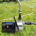 Hurbo Portable Stainless Steel Lawn Sprinkling Pump Water Pump Shallow Well Pump for Garden Irrigation and Pressure Booster (1.6 HP)