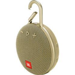JBL Clip 3 Portable Bluetooth Speaker (Desert Sand) JBLCLIP3SANDAM