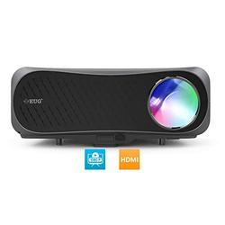 """Native 1080P Projector, Full HD 7200 Lumen LCD Video Projector Zoom & 200"""" Display, Home Theater/Outdoor Movie/Game Compatible with iPhone,Android Smartphone,TV Stick,PS5,Laptop,DVD,HDMI/USB/VGA/AV"""