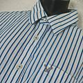 American Eagle Outfitters Shirts | American Eagle Men'S Bluewhite Plaid Button Shirt | Color: Blue/White | Size: 3xl