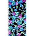 Bayou Breeze Meghan Pineapples & Leaves 100% Cotton Beach Towel Terry Cloth/100% Cotton in Blue   Wayfair 01B6718E10854147AD24BBAA98DFFED1