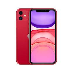 Apple iPhone 11 [128GB, (Product) RED] + Carrier Subscription [Cricket Wireless]