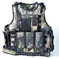 BAR Training CS Field Hunting Vest | Law Enforcement SWAT Tactical Airsoft Paintball Vest 1000D Nylon Material | Swat Vest Adjustable Law Enforcement Assault Chest Vest (Camo)