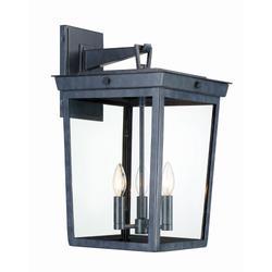 Crystorama Belmont 20 Inch Tall 3 Light Outdoor Wall Light - BEL-A8063-GE