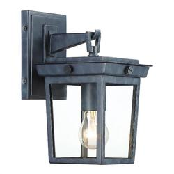 Crystorama Belmont 11 Inch Tall Outdoor Wall Light - BEL-A8061-GE