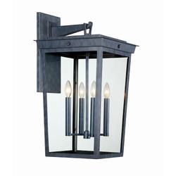 Crystorama Belmont 26 Inch Tall 4 Light Outdoor Wall Light - BEL-A8064-GE