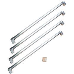 "Bertazzoni MASHK36FD Handle Kit for 36"" French Door Refrigerator Stainless Steel"