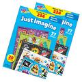 Trend Just Imagine Sparkle Stickers Variety Pack, 234 Per Pack, 2 Packs