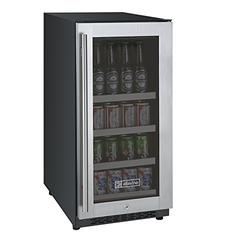 Allavino Beverage Center, 88 Cans, Stainless Steel