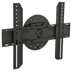 """Symple Stuff HarrellWall Mount for Holds up to 110 lbs in Black, Size 25""""H X 25""""W X 1""""D 