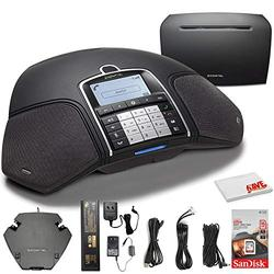 Konftel 300Wx Wireless Conference Phone w/IP DECT 10 Base Station + Sandisk 16GB Card to Record Calls - Conference Room