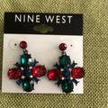 Nine West Jewelry   Beautiful Nine West Earrings   Color: Green/Red   Size: Os