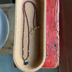 Madewell Jewelry | Madewell Beaded Necklaces | Color: Blue/Red | Size: Os