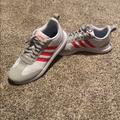 Adidas Shoes | Adidas Retro Shoes | Color: Gray/Red | Size: 9