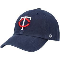 """Men's '47 Navy Minnesota Twins Home Clean Up Adjustable Hat"""