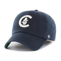 """""""Men's '47 Navy Chicago Cubs Cooperstown Collection Franchise Logo Fitted Hat"""""""