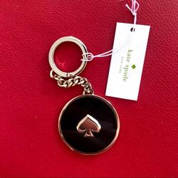Kate Spade Accessories   Kate Spade Key Chain Purse Accessories   Color: Black/Gold   Size: Os