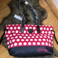 Dooney & Bourke Bags | 100%Authentic Minnie Mouse Rocks The Dots Tote | Color: Red/White | Size: Os